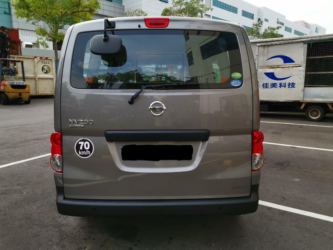 NEW NISSAN NV200 1.6 A FOR 3 YEARS RENTAL @ $1,300 PER MONTH !!!! CALL 92994404 NOW!!!!
