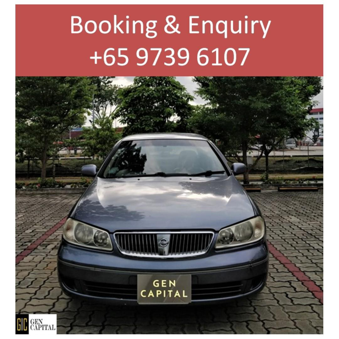 Nissan Sunny Manual -  Your preferred rental, With the Best service! @97396107