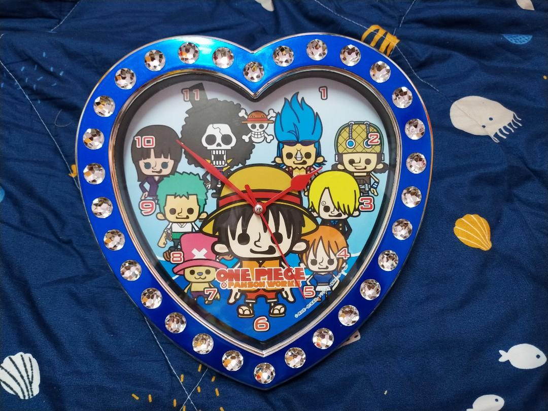 One Piece Panson Works Love Shape Wall Clock [ OFFICIAL ]