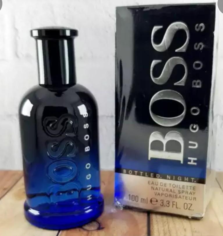Parfum Hugo Boss bottle night 100ml (segel)