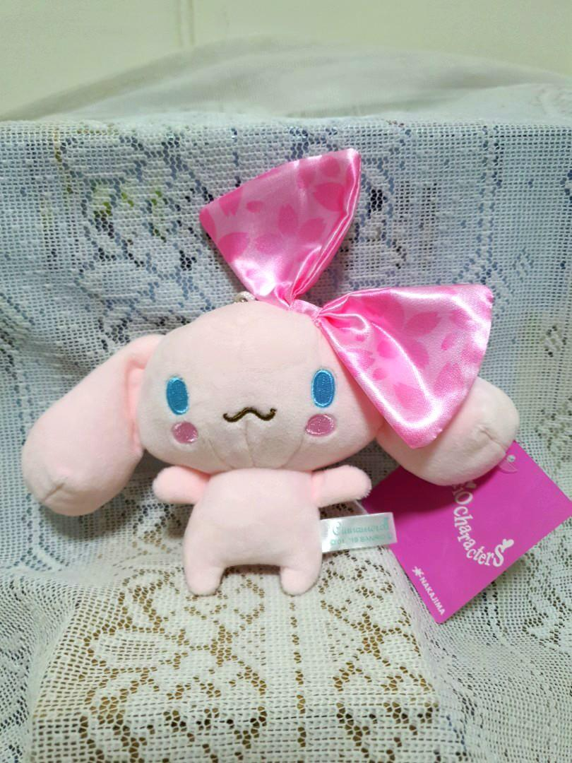 Pink ribbon🎀Cinnamoroll Keychain