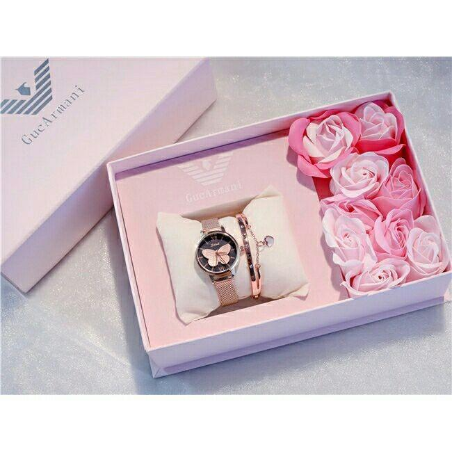 [PO] Watch + Bracelet WITH BOX AS SEEN IN PIC
