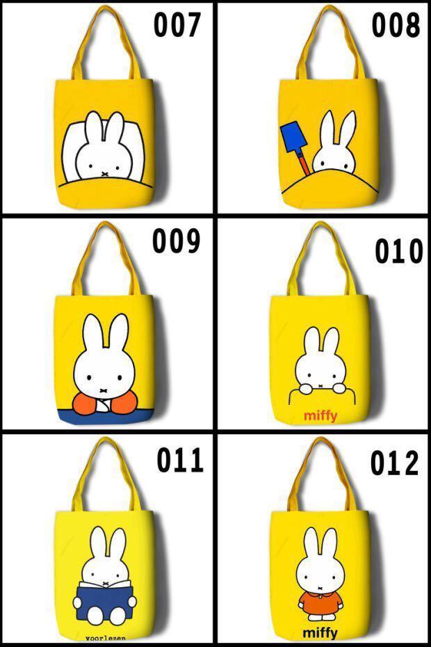 Pre-Order Miffy Rabbit Bunny eco bag tote shoulder