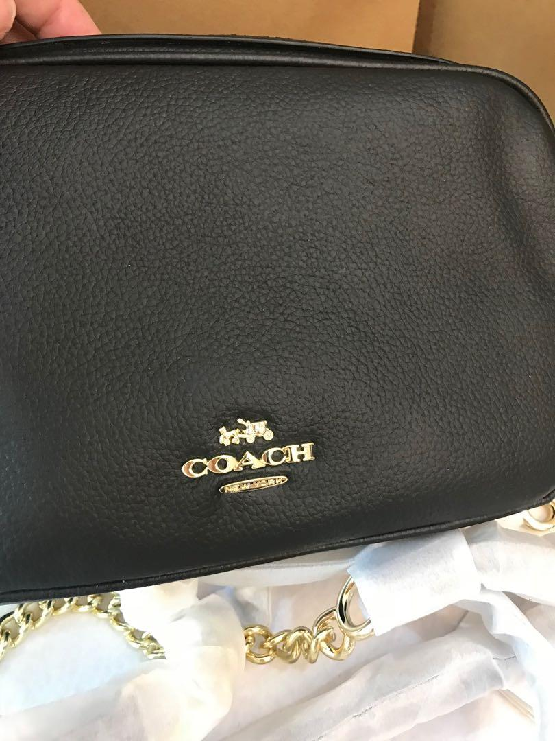 Ready stock 25922 women ready stock camera bag coach sling bag hb