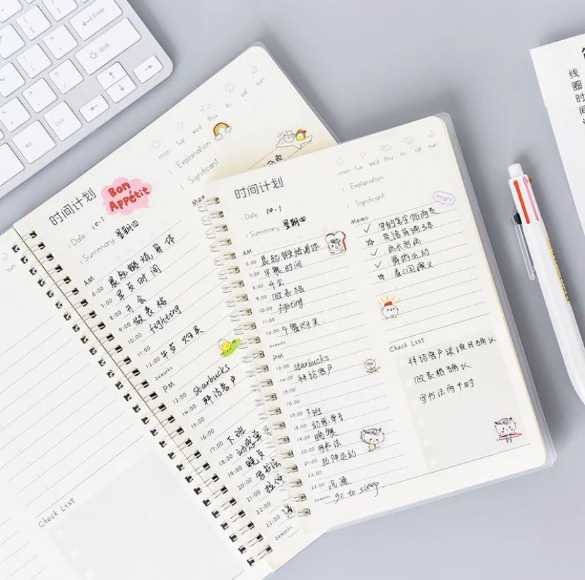 Ready stock (1 piece left only): Daily Planner 2020 + Preorder
