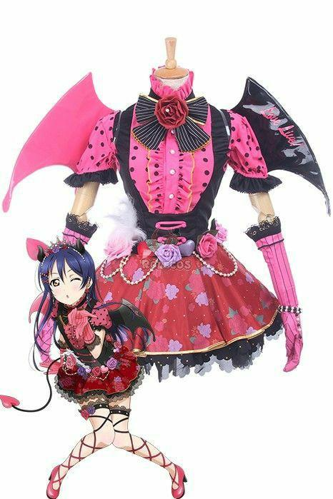 RENT/SALE Love Live! Umi Sweet Devil Cosplay Costume