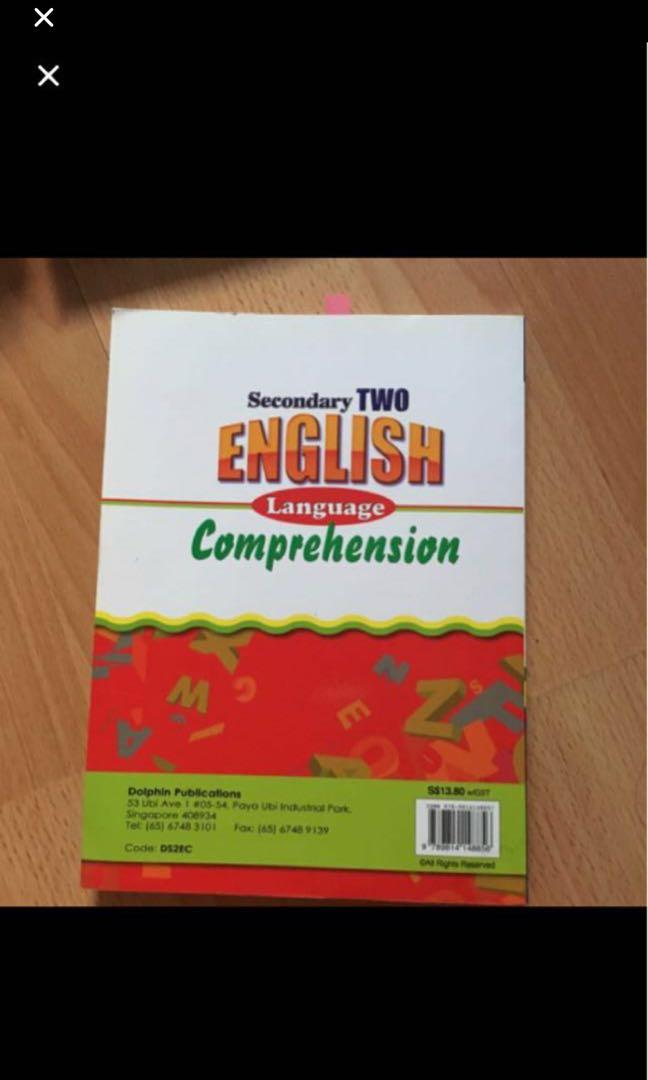 Secondary 2 English Comprehension Assessment Book