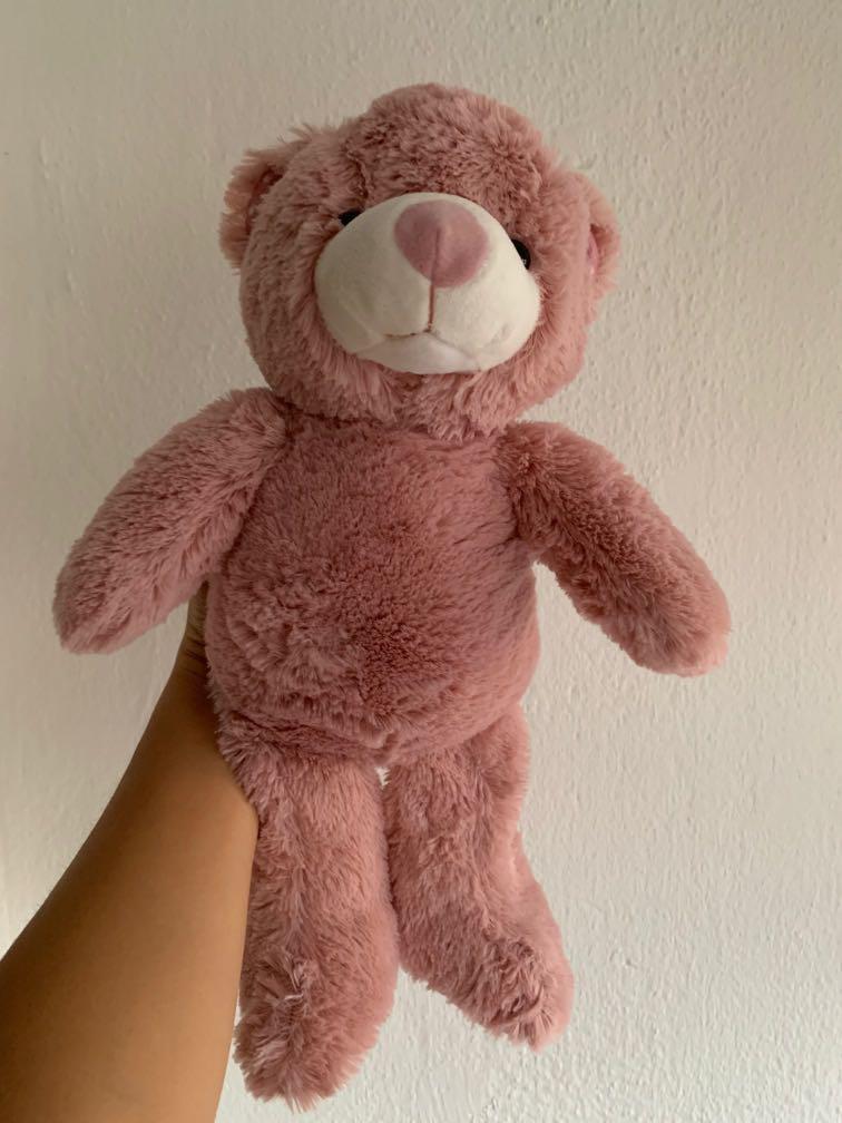Soft Pink Teddy Bear