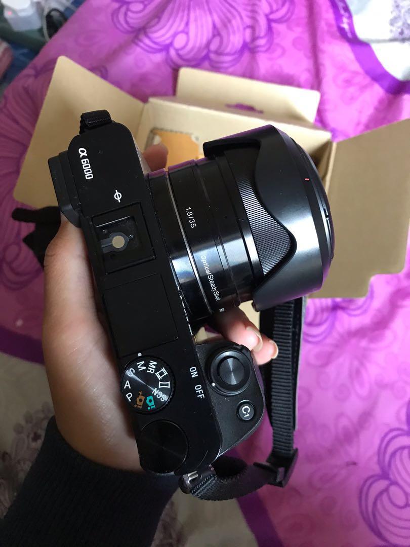 Sony A6000 camera+kit lens