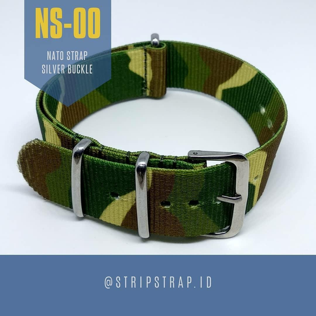 Strap Jam tangan Silver Buckle NS-00