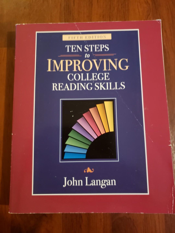 Ten steps to improving college reading skills langan