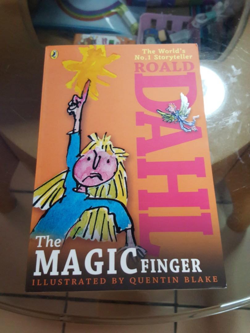 THE WORLD MO.1 STORY TELLER ROALD DAHL THE MAGIC FINGER.