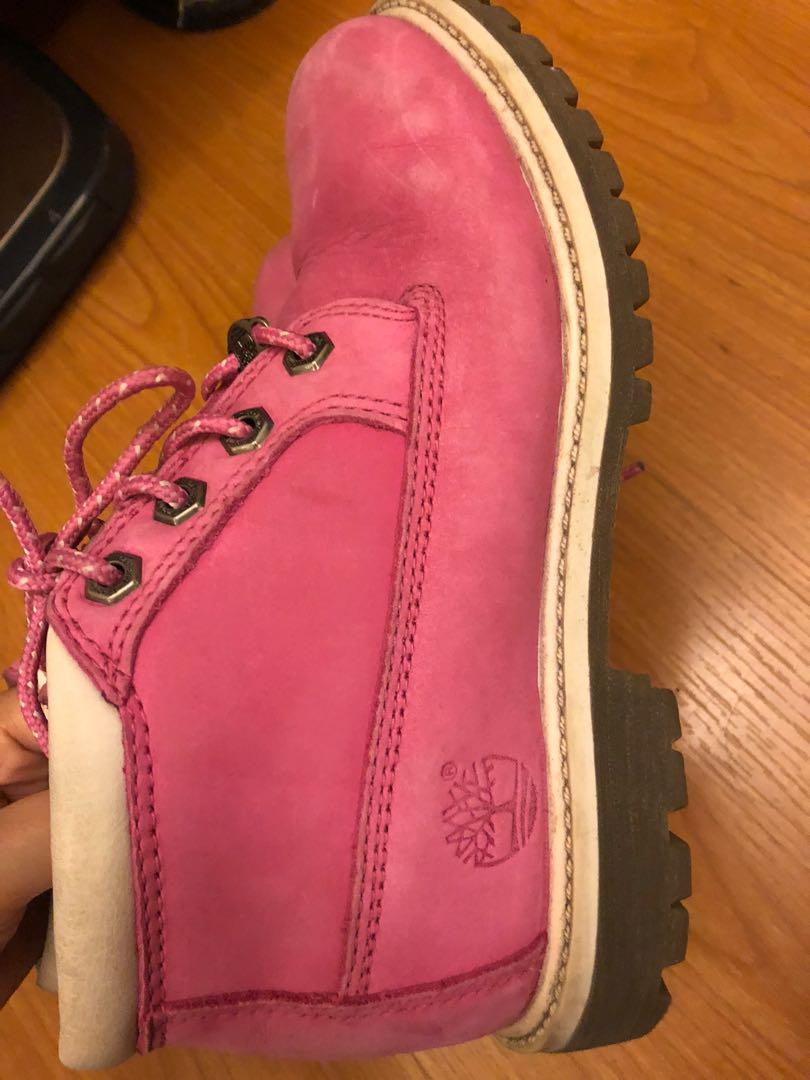 Timberland 粉色 22.5cm
