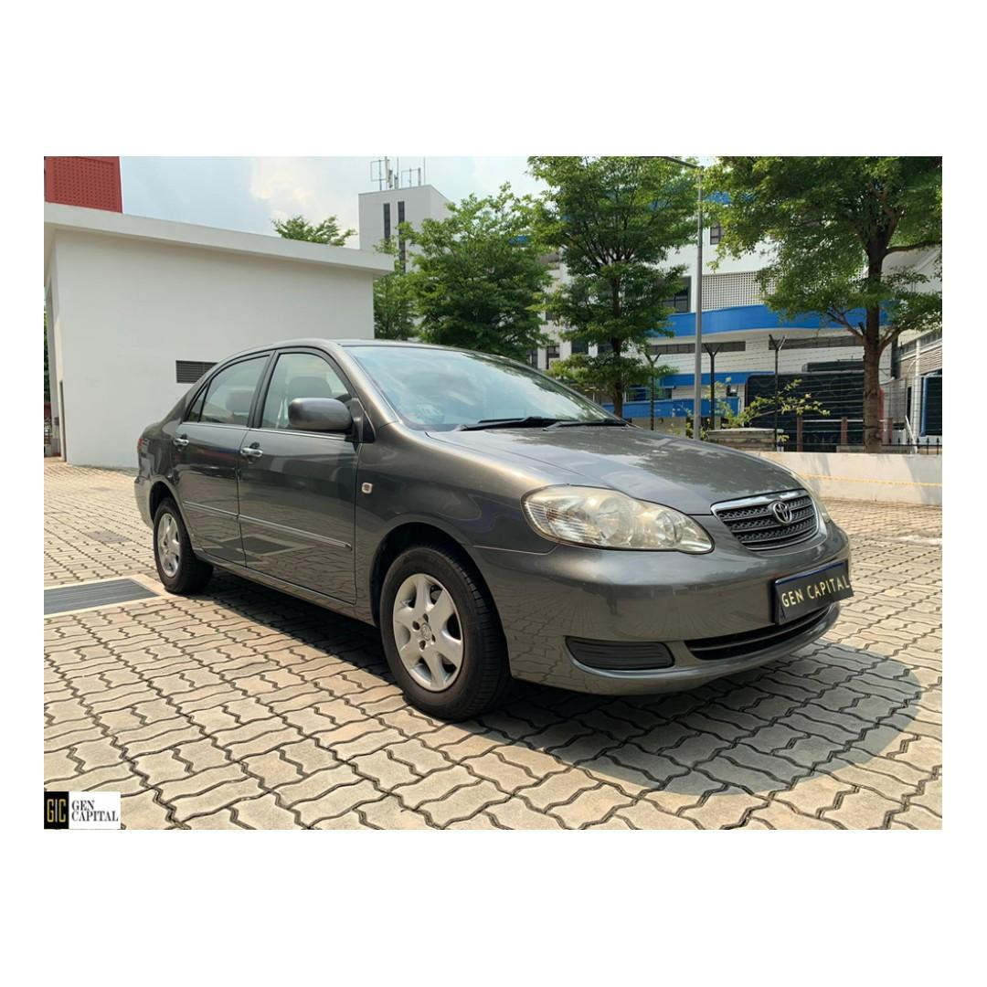 Toyota Altis -  Your preferred rental, With the Best service!
