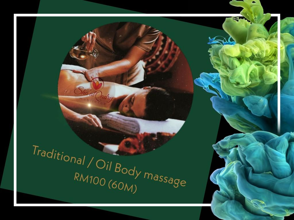 Traditional /Oil Body Massage