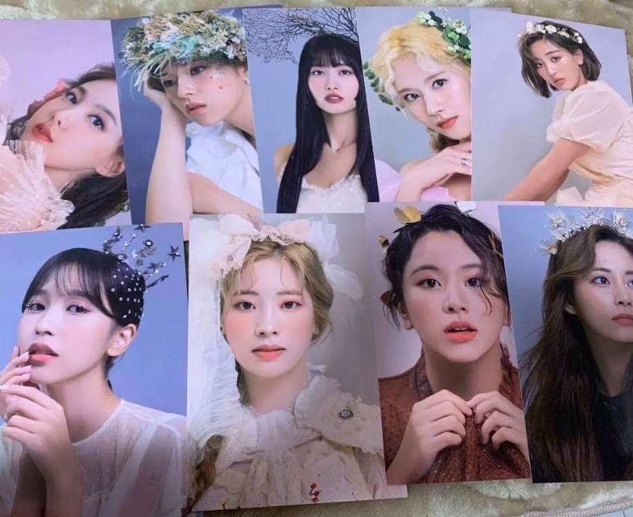 TWICE Japan Season Greetings 2020 'Illusion'  Postcards