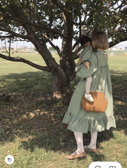 (🇯🇵日本代購)日幣¥10,780円【ruby and you】日本青文字女神AMO著用復古斜背駝咖包