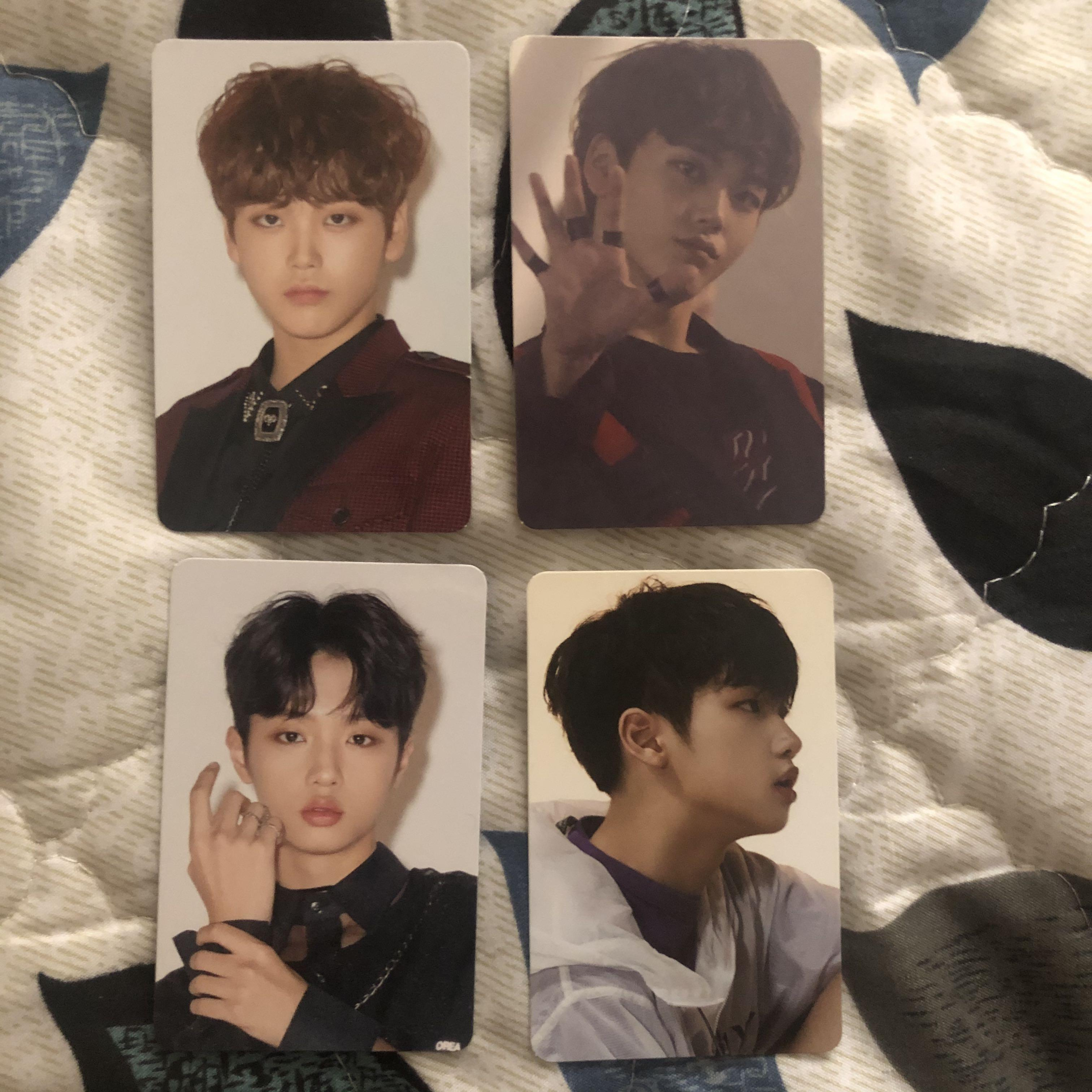 X1 Dongpyo and Hyeongjun photocards