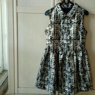 Monochrome Party Mini Dress #Belanja0
