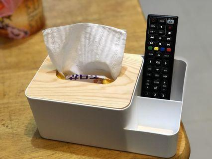 加大收納文青松木面紙盒-現貨