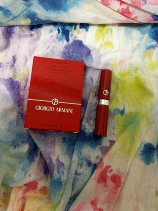 (無盒-全新)Giorgio armani 奢華絲絨訂製唇萃 (色號:400)4.5ml含運