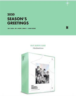 [LOOSE ITEM] BTS 2020 SEASON'S GREETINGS