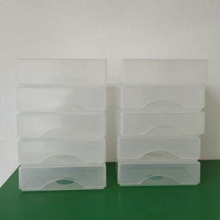 Namecard Holder 10pcs only rm1.50 Plastic Container