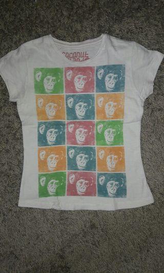 Kaos anak perempuan Branded Original Coconut Island Kids