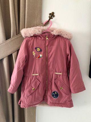 Mark & Spencer Girls 2-3 Yrs Almost New Jacket