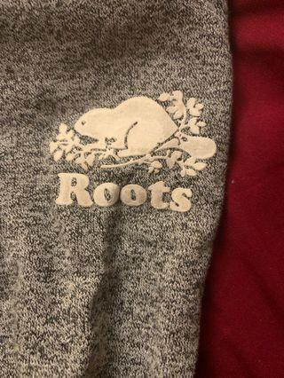 Roots salt and pepper sweatpants-kids
