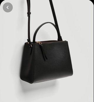 Zara Medium Tote Bag with Zip