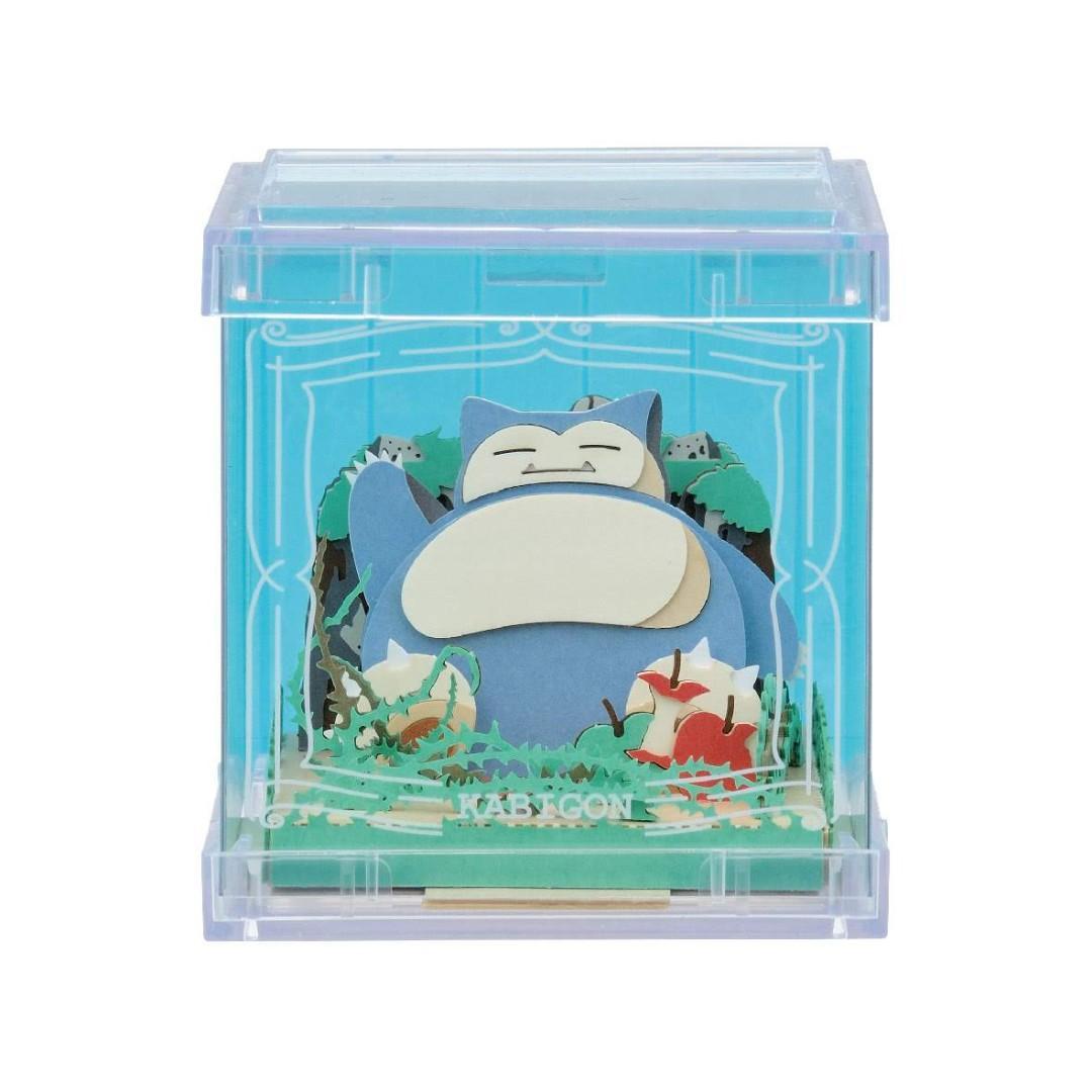 【預購】(11/23截)(20/03到) PAPER THEATER 紙劇場 -Cube- Pokemon 精靈寶可夢 比卡超 卡比獸 伊貝 日本直送 $130@1 2020年03月到貨 11月23日截單