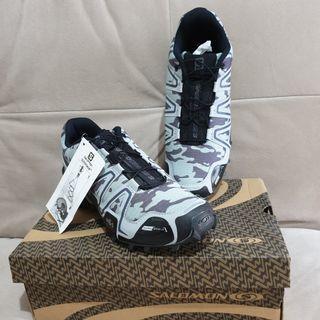 JUAL RUGI Sepatu Outdoor Salomon Quicklace size 42 kecil
