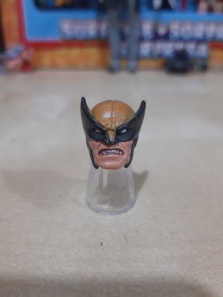 Marvel Legends WOLVERINE Logan Head only - toybiz