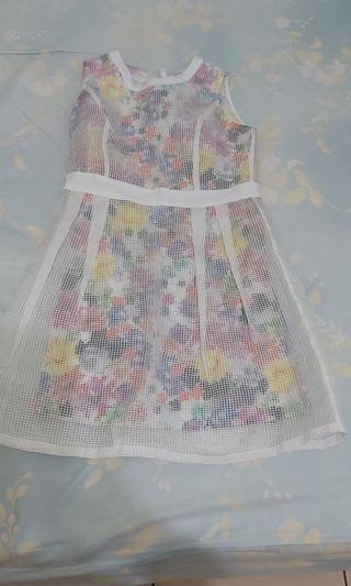 蕾絲春天小花洋裝