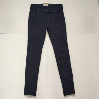 Zara Skinny fit stretchable jeans blue black
