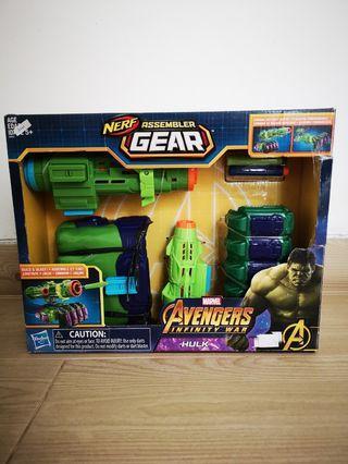 Nerf assembler gear avengers hulk