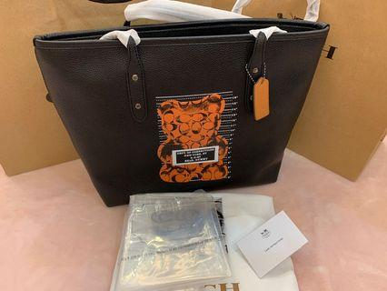 Authentic coach 78203 gummy bear collection totes