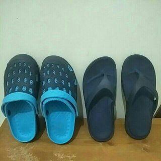 男童懶人鞋+夾腳拖鞋