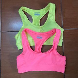cotton on sport bra (like new)