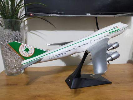 長榮航空B747-400 第二代塗裝 1/130