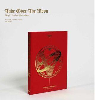 [PREORDER] WayV 2nd Mini Album 'Take Over The Moon'