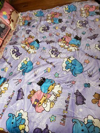 三麗鷗 雙子星厚毯