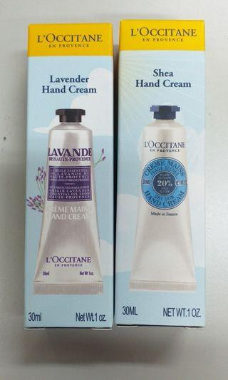 L'occitane 30ml護手霜