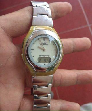 Casio AW e10 yellow vintage