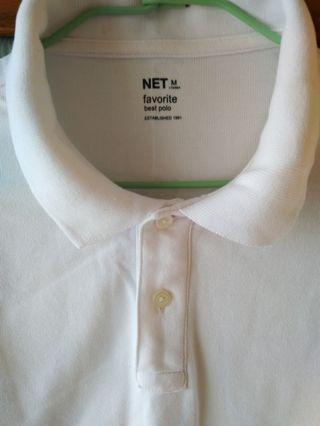 NET   白色T