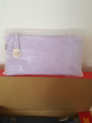 淺紫色手拿包