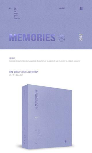 [WTB] BTS Memories 2018
