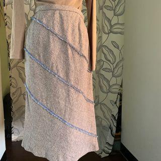 日本製 小香風設計款半身裙