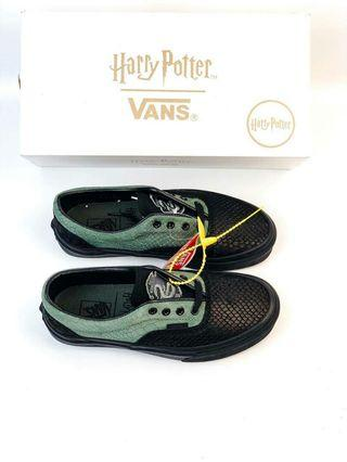 Sepatu Vans harry potter slytherin hogward house era BNIB